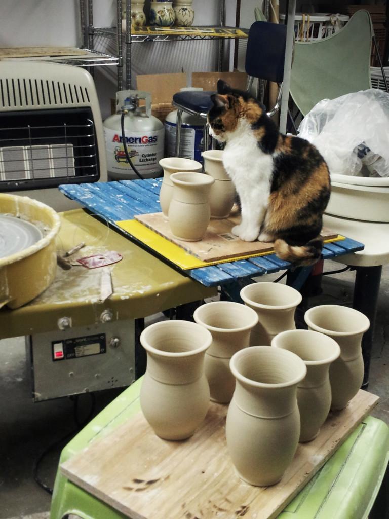 Loretta in studio